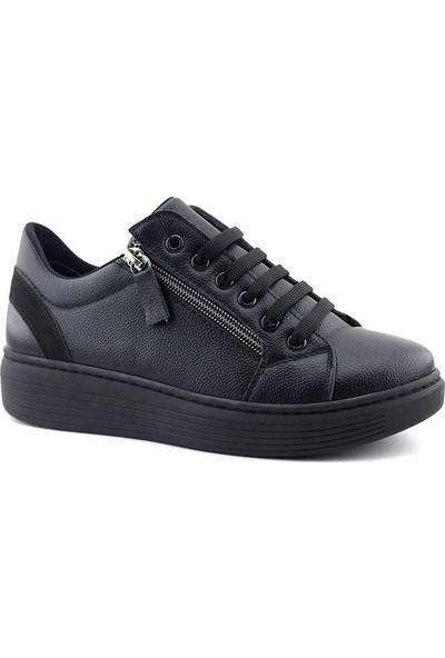 Saçma 361 Kadın Günlük Ayakkabı Siyah Rolax
