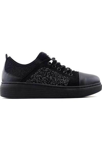 Saçma 331 Kadın Günlük Ayakkabı Siyah Rolax