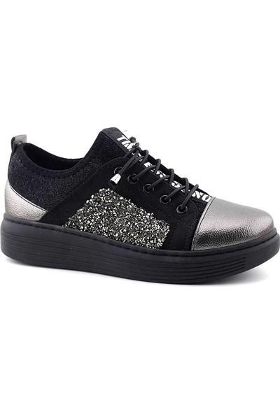 Saçma 331 Kadın Günlük Ayakkabı Platin Rolax