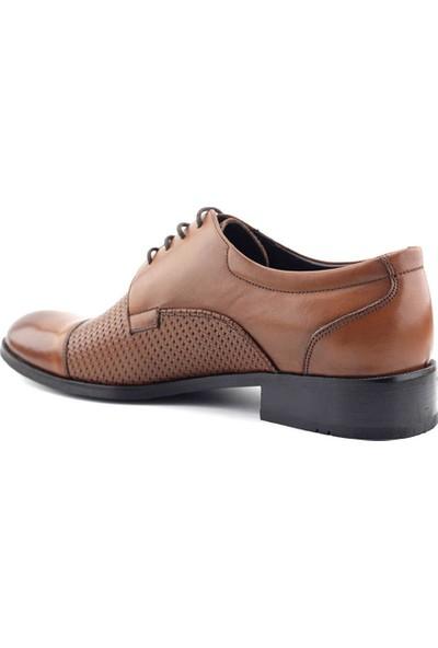 Monoman 78 Hakiki Deri Klasik Erkek Ayakkabı Taba
