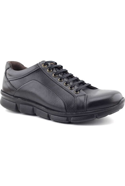 Forex 2770 Hakiki Deri Erkek Ayakkabı Siyah