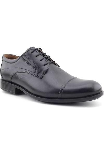 Forex 2468 Hakiki Deri Erkek Ayakkabı Siyah