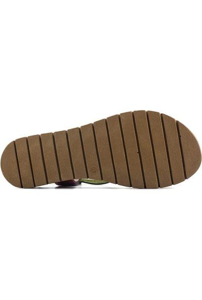 Clavi VRL322 Kadın Sandalet Multi