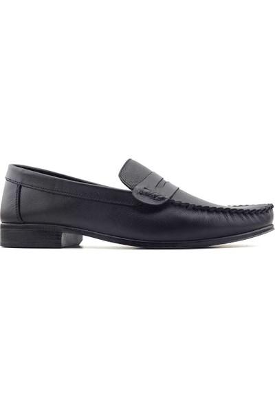 Catchers 2020 Hakiki Deri Erkek Ayakkabı Siyah