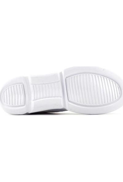 Liger Poldi Erkek Spor Ayakkabı Beyaz
