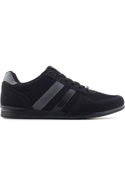 Liger 1004 Erkek Spor Ayakkabı Siyah Füme