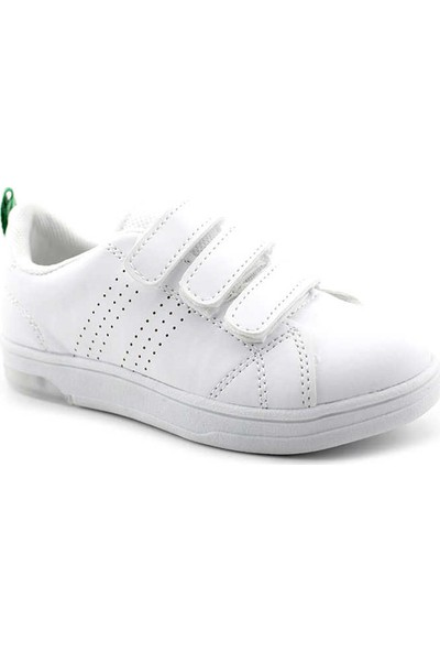 Cool Kids S30 Patik Çocuk Spor Ayakkabı Beyaz