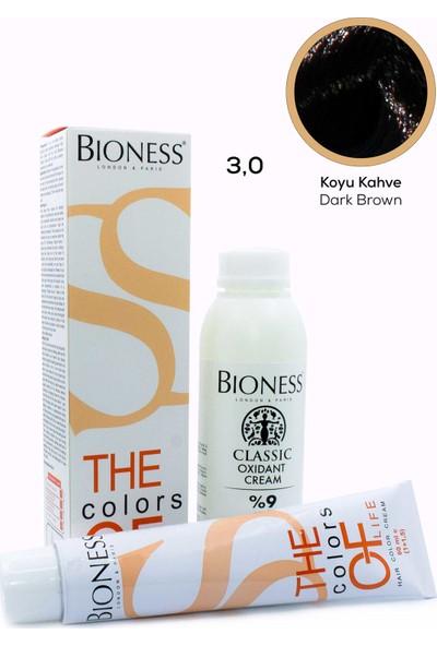 Bioness Classic Siyah 1.0 Saç Boyası + Oksidan