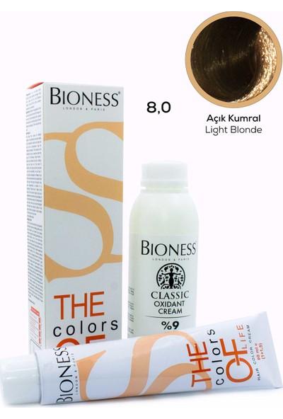 Bioness Classic Kumral 7.0 Saç Boyası + Oksidan