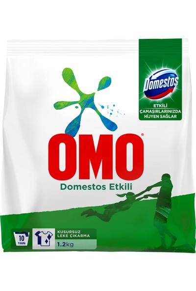 Omo Domestos Etkili Toz Çamaşır Deterjanı 1.2 KG 10 Yıkama