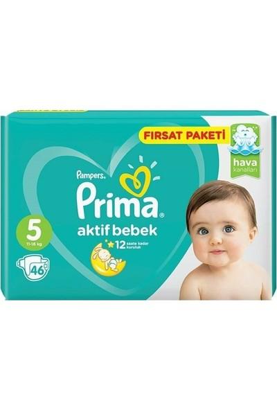 Prima Bebek Bezi Paketi 5 No 11-16 kg 46'lı