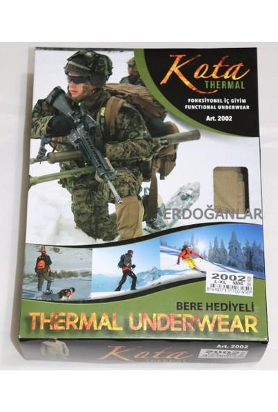 Kota Termal Erkek Askeri Içlik - Asker Termal Içlik - 3'lü Takım