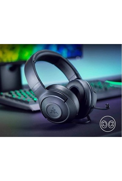 Razer RZ04-02960100-R3M1 Hds Kraken x USB Oyuncu Kulaklığı