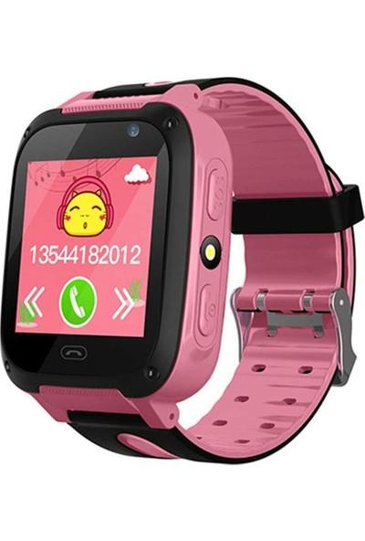 Smartbell Q530/2020 Sim Kartlı Akıllı Çocuk Saati - Siyah-Pembe