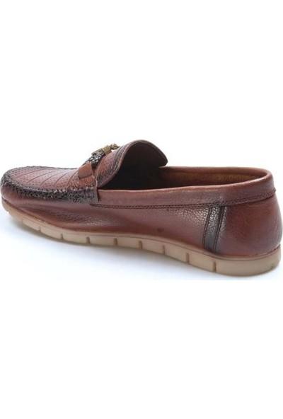Fast Step Deri Erkek Loafer Ayakkabı 783MA48LZR