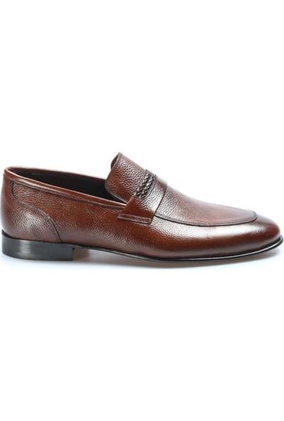 Fast Step Deri Kösele Erkek Klasik Ayakkabı 932MA301