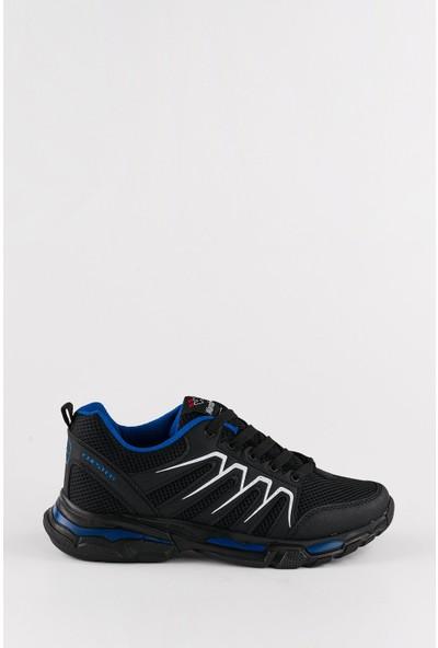 Wanderfull Siyah Erkek Spor Ayakkabı Sneaker 43