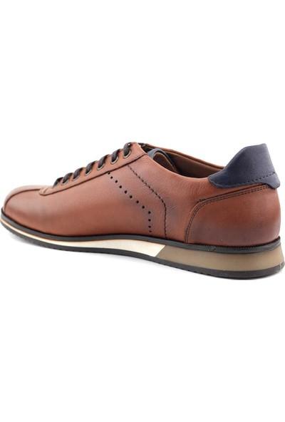 Eduardo Editta 304 Hakiki Deri Erkek Ayakkabı Taba