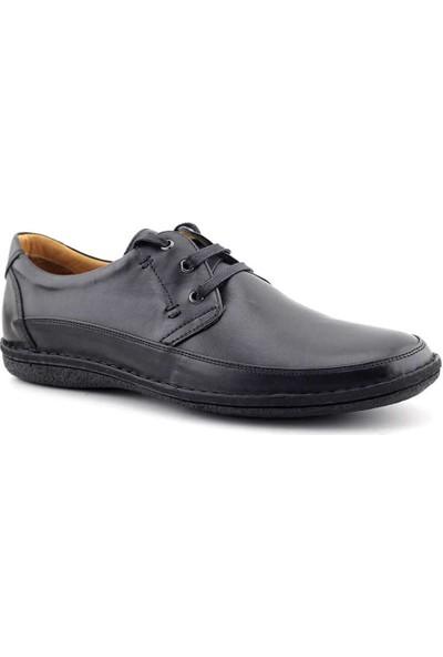 Dr. Flexer 198302 Hakiki Deri Erkek Ayakkabı Siyah