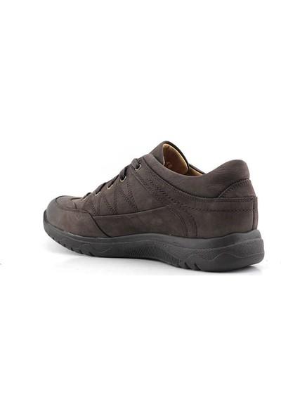 Dr. Flexer 152003 Hakiki Deri Erkek Ayakkabı Nubuk Kahverengi