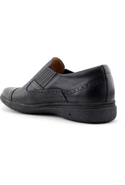 Dr. Flexer 018002 Hakiki Deri Erkek Ayakkabı Siyah