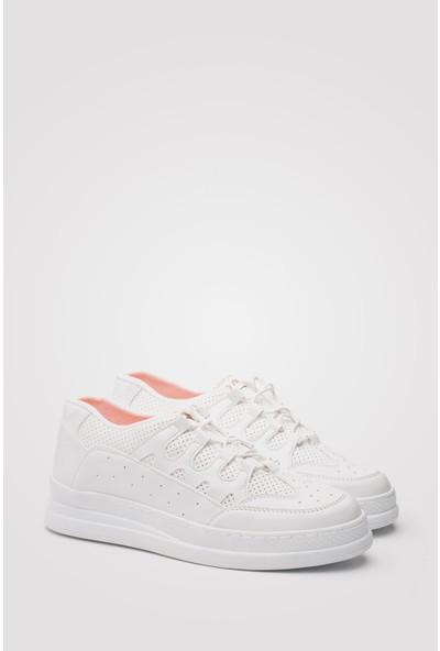 Conteyner Günlük Spor Erkek Beyaz Casual Ayakkabı - Conteyner - Ch040