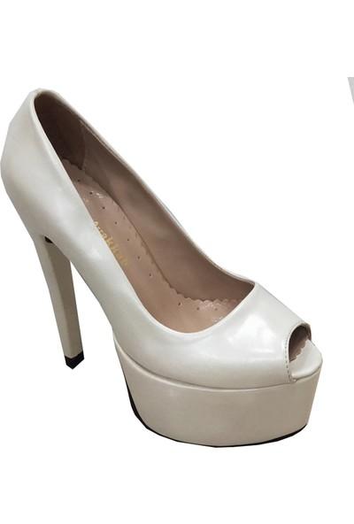 Ceya 98802 Deri Yüksek Platform Kadın Ayakkabı