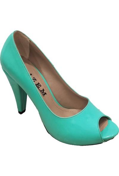 Gizem 46610 10MM Rugan Platform Kadın Ayakkabı