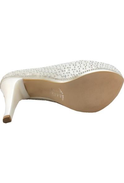 Jena 3549 Abiye Platform Topuklu Ayakkabı