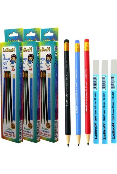 Lebron Hiç Bitmeyen Akıllı Kalem Set 3'lü