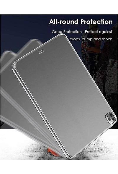 "Engo Apple iPad Pro 11"" 2. Nesil 2020 Ince Silikon Arka Kapak Şeffaf Kılıf iPad A2228 A2068 A2230"
