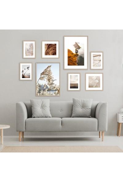 Hepsi Home Doğa 8'Li Çerçeveli Poster Seti Hpbd-075