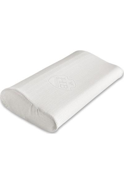 Hiss Medikal Hava Kanallı Boyun Destek Yastığı 30 x 50 cm