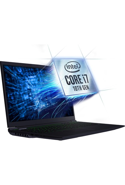 Monster Abra A7 V11.2 Intel Core i7 10750H 8GB 250GB SSD GTX1650 Freedos 17.3'' FHD Taşınabilir Bilgisayar