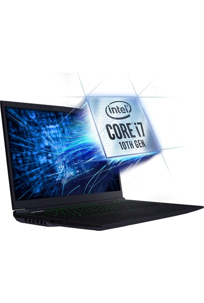 Monster Abra A7 V11.3.1 Intel Core i7 10750H 8GB 500GB SSD GTX1650Ti Freedos 17.3'' FHD Taşınabilir Bilgisayar