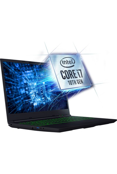 Monster Abra A5 V15.8 Intel Core i7 10750H 8GB 250GB SSD GTX1650Ti Freedos 15.6'' FHD Taşınabilir Bilgisayar