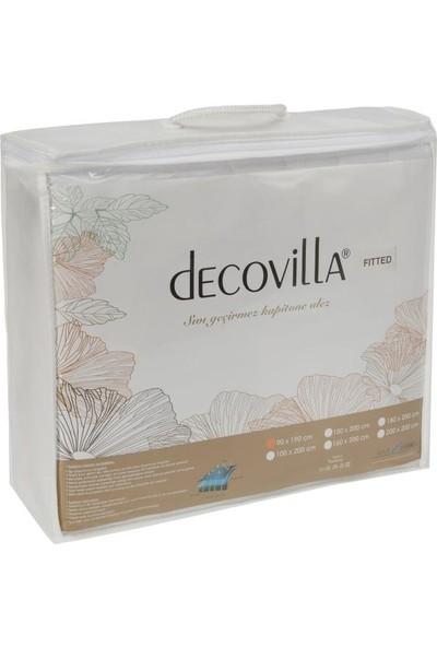 Decovilla 120 x 200 cm Kapitone Fitted Alez Sıvı Geçirmez