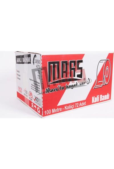 Mars Tape Akrilik Koli Bandı 45 mm x 100 mt 72'li