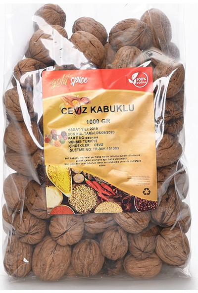 Gold Spice Kabuklu Ceviz 1 kg