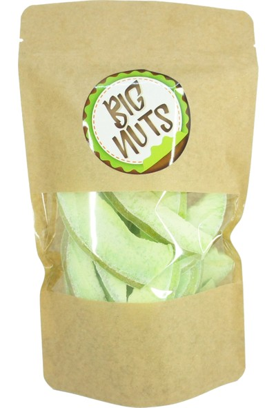 Big Nuts Pomelo Kurutulmuş Şadok Tropikal Meyve Kurusu Yeşil 1 kg