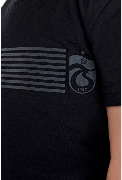 Ts Club T-Shirt Bisiklet Yaka Ince Şeritli