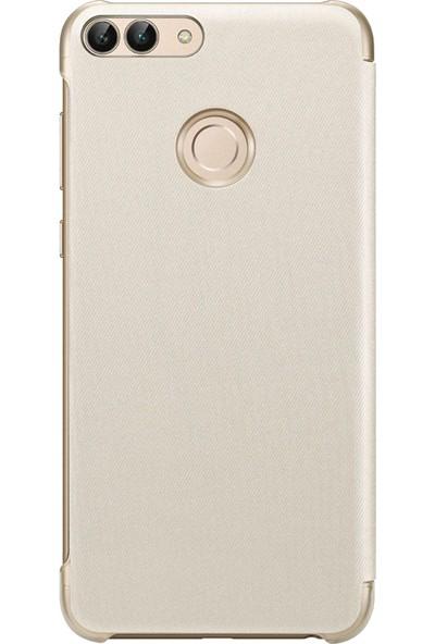 Huawei P Smart Flip Cover Case Gold