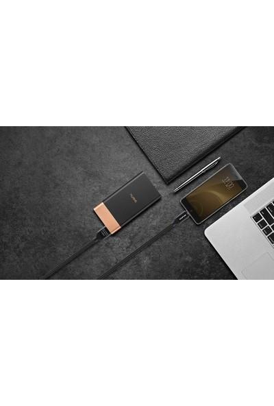 Aweı Cl-81 Micro USB Şarj ve Data Kablosu 1m Siyah