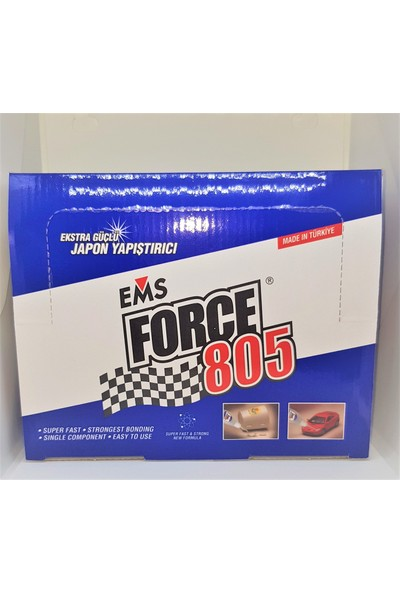 Ems Force 805 Hızlı Yapıştırıcı 20 gr 30'lu