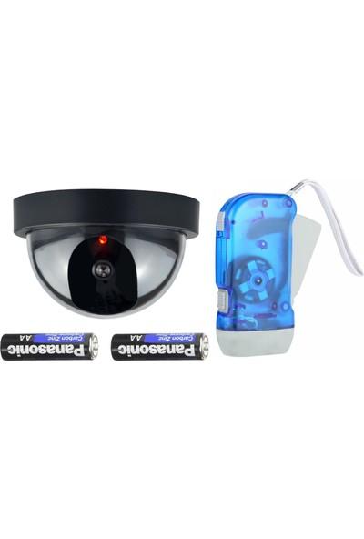 Mastercare 712671 Hareket Sensörlü Caydırıcı Kamera + El Feneri Seti
