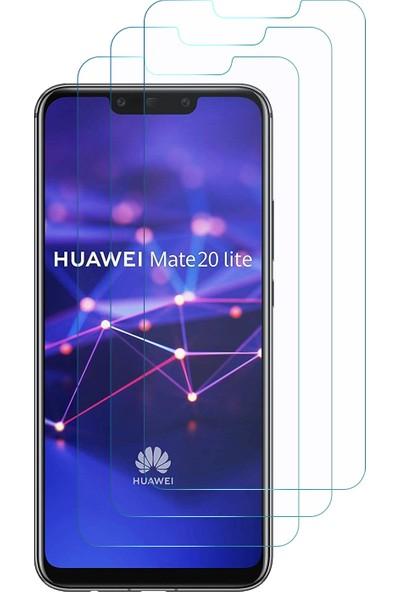 Microsonic Huawei Mate 20 Lite Ekran Koruyucu Nano Cam (3'lü Paket)