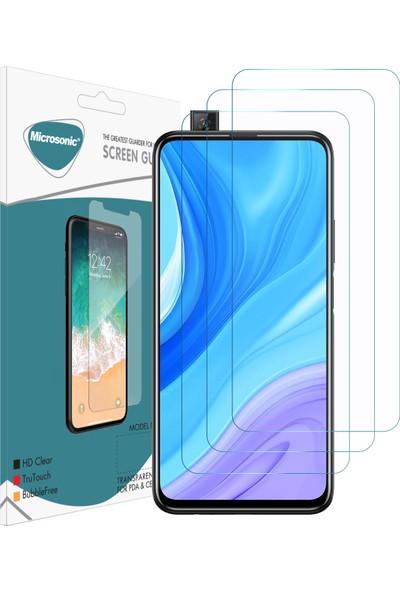 Microsonic Huawei P Smart Pro Ekran Koruyucu Nano Cam (3'lü Paket)