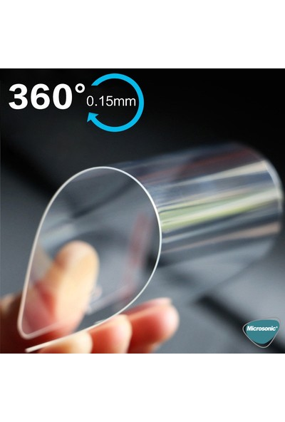 Microsonic Apple iPhone Xr Ekran Koruyucu Nano Cam (3'lü Paket)