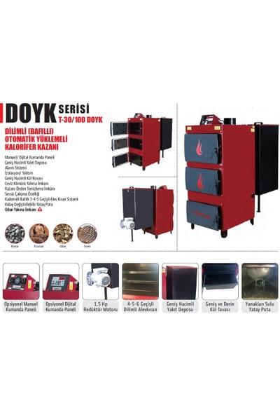 Thermall T-100 DOYK Dilimli Otomatik Yüklemeli Kalorifer Kazanı 100.000 kcal/h