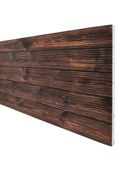 Tan Dekor 3 Boyutlu Renkli Kültür Ahşap Ağaç Desen Strafor 3D Köpük Duvar Kaplama Paneli Wd - 707
